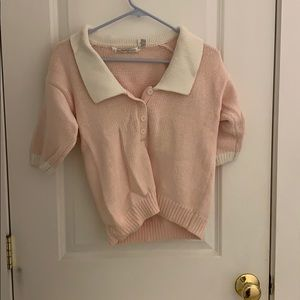Vintage chunky knit top